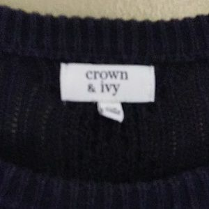 crown & ivy Sweaters - Sweater by Crown & ivy